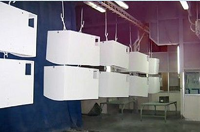 Case Study of Furniture Powder Spraying Production Line